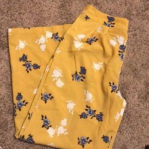 Xhilaration light weight flower pants